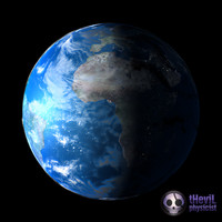 materials earth shader 3d model