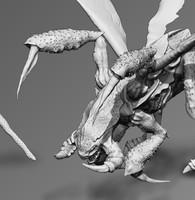 3d speedling zergling model