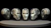 free iron robot 3d model