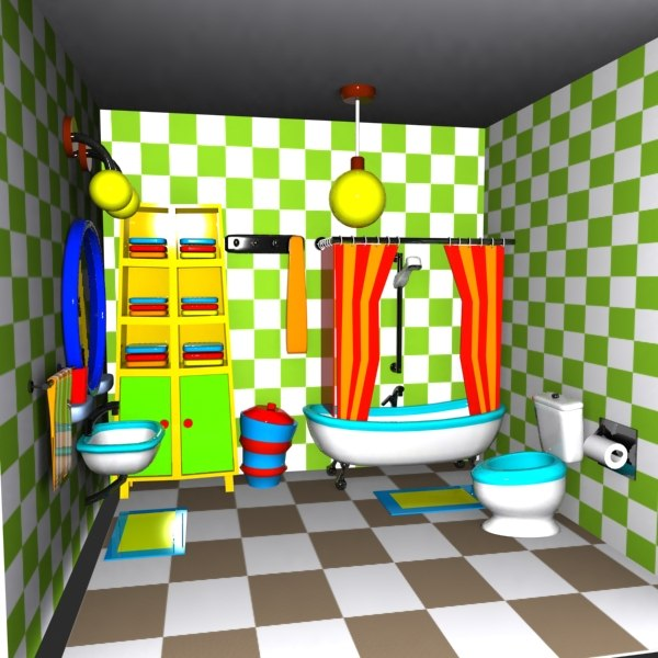 Cartoon Bathroom Images Related Keywords Suggestions Cartoon