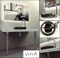 3d washbasin mirror vitra