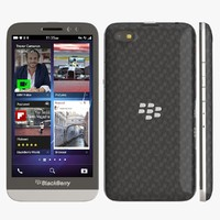3d blackberry z30 model