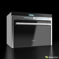 3d obj compact multi-function oven microwave