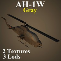 3ds max ah-1w gry