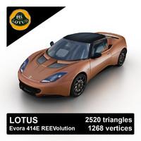 2012 evora 414e reevolution 3d model