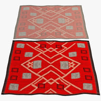 oriental rug 5 3d 3ds