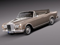classic antique 1971 luxury 3d model