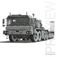 faun sl-56 - heavy 3d 3ds