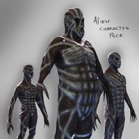 Alien Character Pack
