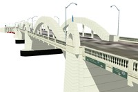 william jolly bridge 3d model