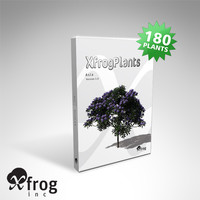 3d tree asia plant xfrogplants model