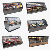 Deli Case Set