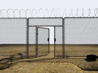 abandoned perimeter 3d model