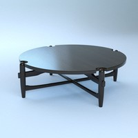 3ds max vintage table