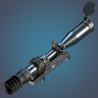 3-10x 1P69 sniper rifle scope