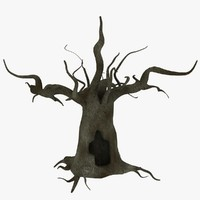 old tree 3d obj