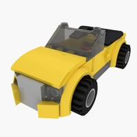 Lego Yellow Car set 8404