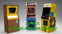 Classic Arcade Games 3-Pack