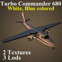 turbo commander dbl 3d max