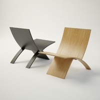 3d jens laminex chair furniture model