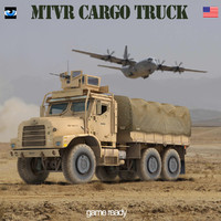 3ds oshkosh mtvr military truck