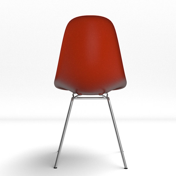 3d eames molded plastic chair for Icon mobel eames