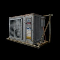 Air Conditioner rust - Game Ready
