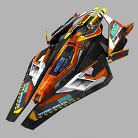 SciFi Racing-Ship 02