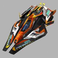 max scifi racing-ship 02