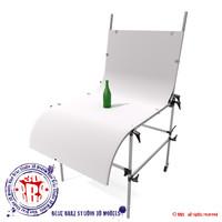life table 3d model