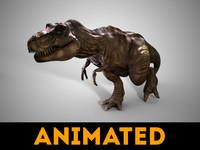 trex dinosaur 3d max