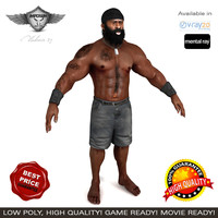 3ds max fighter kimbo slice
