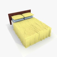 maya bed yellow