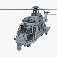Eurocopter EC725 Caracal Tactical Transport Helicopter 6