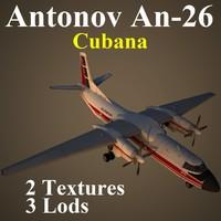 3d antonov cub model