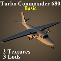 turbo commander basic 3d max
