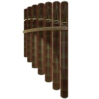 bamboo flute 3d 3ds