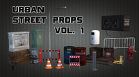 urban street props vol 1 max