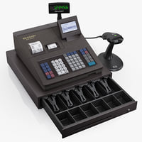 Cash register SHARP ER-A347 ER-A247 XE-A407 XE-A507 XE-A43S