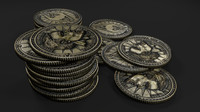 3ds max septim coins