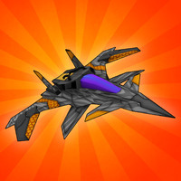 3d fi space fighter model