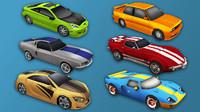 3d model car pack sport