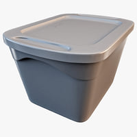 Storage Box 18-Gallon