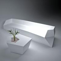 modular sofa 3d 3ds