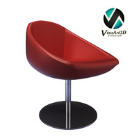 3d club armchair chair