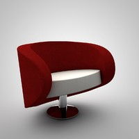 c4d furniture sofa bend
