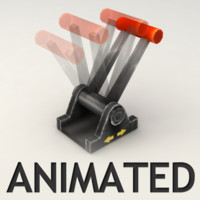 Animated lever