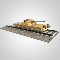 panzer german 3d model