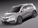 Acura MDX 3D models