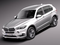 2014 luxury suv 3d model